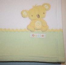 Carters  Child of Mine Baby Blanket KOALA BEAR CUTIE Green White Yellow ... - $18.20 CAD