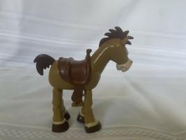 "Rare Disney Pixar 1996 Toy Story Bulleye Bulls Eye Horse 7"" Cake Topper - $23.36"