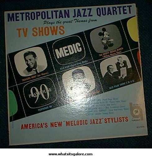 Primary image for Metropolitan Jazz Quartet TV Theme Song LP/Mickey Mouse Club