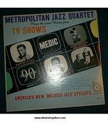 Metropolitan Jazz Quartet TV Theme Song LP/Mickey Mouse Club - $4.00
