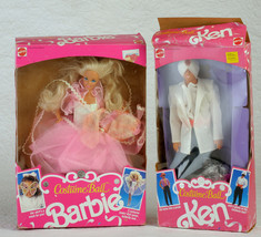 ken and barbie costume ball in box. 1990 - $22.77