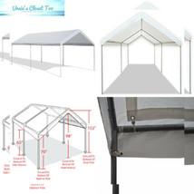 Caravan Canopy 10 X 20-Feet Domain Carport, White - $154.19