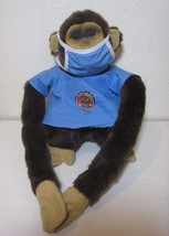 """Monkey Puppet Plush Surgical Doctor Mask Scrubs Instruments 18"""" Rare - $17.99"""