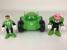 Imaginext DC Super Friends Green Lantern Rover Vehicle 3pc Kilowog 2008 ... - $24.70