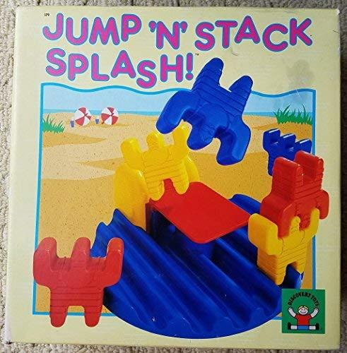 Jump 'N' Stack Splash! Educational Building Game Discovery Toys