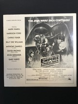 STAR WARS EMPIRE STRIKES BACK Radio Interview Special LP 1980 RARE Promo... - $373.99