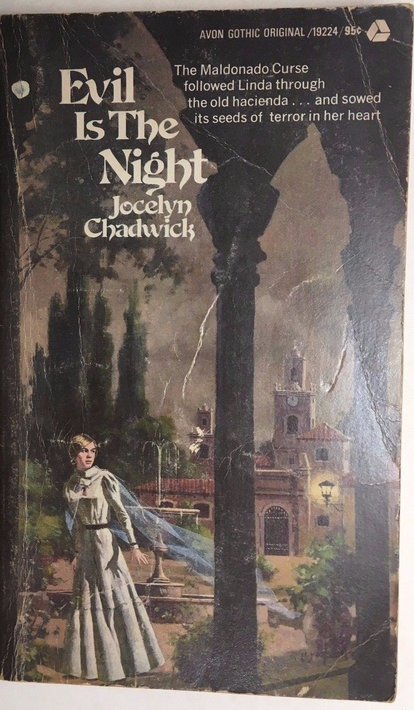 Primary image for EVIL IS THE NIGHT by Jocelyn Chadwick (1974) Avon gothic pb 1st
