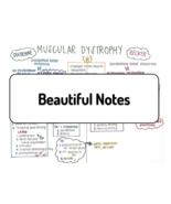 Muscular Dystrophy - Duchenne and Becker - Nursing Prep Study Sheets - $1.59