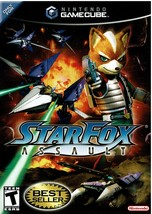 Star Fox Assault, by Nintendo GameCube 2006, Complete with Disc, Case, &... - $29.99