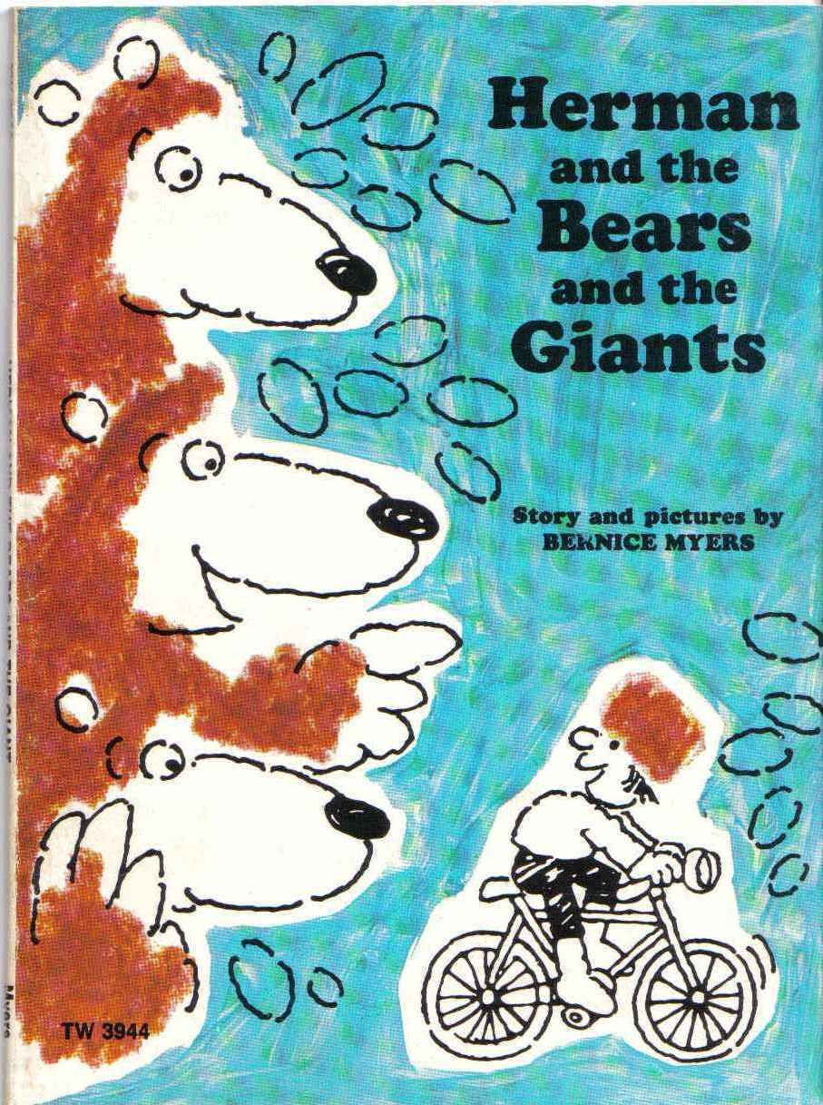 Primary image for Herman and the Bears and the Giants by Bernice Myers, 1978