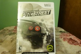 Need for Speed: ProStreet (Nintendo Wii, 2007) VG Condition W/Booklet - $11.87