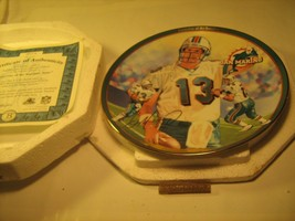 "8"" Porcelain Collector Plate DAN MARINO Superstar of the Sunshine State ... - $18.95"