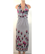 Sexy Casual Sleeveless Womens One Size V neck Long Maxi Dress,Multi-Color - $22.94