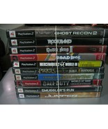 Lot of 9 Playstation 2 Games - See Description for Game Titles E - $26.72