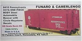 Funaro & Camerlengo HO PRR  X37A Automobile boxcar Boxcar Kit 8410 image 1