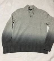 Express Design Studio Worn twice men 1/2 Zip Sweater Wool Blend pullover... - $21.49