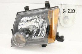OEM HEADLIGHT HEAD LIGHT LAMP HEADLAMP NISSAN XTERRA BLACK 08-15 minor s... - $99.00