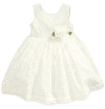 Blueberi Boulevard Baby Girls' Lace Special Occasion Dress, Size 24M, MSRP $70 - $24.74