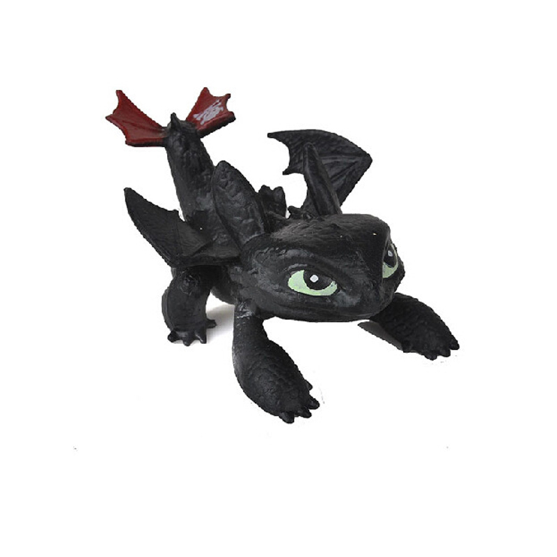 8 Pcs Juguetes How To Train Your Dragon Action Figures Night Fury kids toys