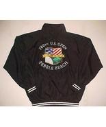 100th U.S. Open Pebble Beach 2000 Golf Vintage Golfer Black Full Zipper ... - $59.39