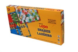 Toys Box Ludo & Snakes & Ladders Medium Age 3+ image 2