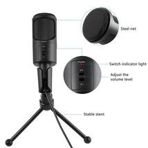 Desktop Mini USB Flexible Microphone with Tripod Bracket Stand US STOCK - $29.67