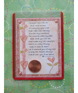 """Wife"" Shiny Lucky Penny Magnetic or Tuck-in Card - $4.00"