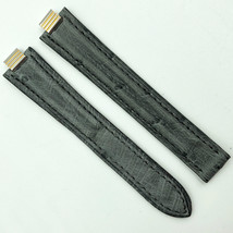 Cartier Authentic 7mm Gray Alligator Leather Strap for Deployant 5809A19OCHE - $349.00