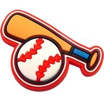 Bat and Baseball Rubber Charm - $7.31