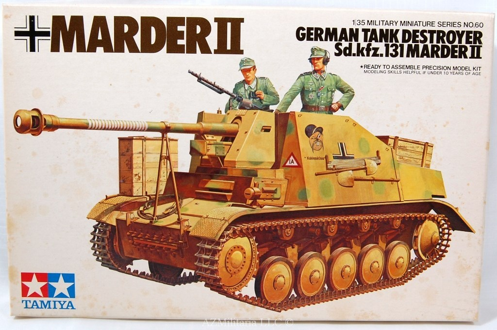 1/35 German Tank Destroyer Sd.kfz.131 Marder II  Kit No MM160 Series No. 60