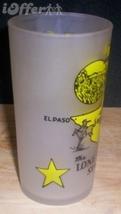 1960'S Retro Hazel ATLAS-- Frosted Souvenir Texas Glass Tumbler - $17.45