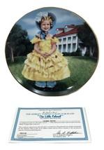 Shirley Temple The Little Colonel Danbury Mint 1990 Collector Plate w COA - $19.80
