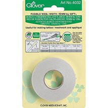 Clover Fusible Web Tape-10mmx40' - $7.46