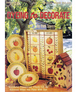 DECORATIVE PAINTING DYEING TO DECORATE PATTI SOWERS - $5.00