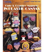 CUTE & COUNTRY MAGNETS IN PLASTIC  - $3.50