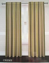 "Traditions Waverly Lover's Lane Creme 2 Window Panels 104""x 84"" Curtains... - $69.18"