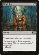Magic The Gathering-Welcome Deck 2016-Mind Rot - $0.25