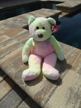 "TY Beanie Babies Pillow Pal Groovy the Bear 13"" Long Retired Collectible - $10.00"