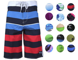 Surf Ocean Men's Premium Beach Sport Swimwear Bathing Suit Trunks Board Shorts
