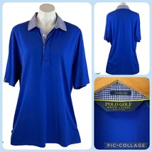 Polo Ralph Lauren Golf Vintage Lisle Cotton Peru Short Sleeve Shirt Mens... - $50.00