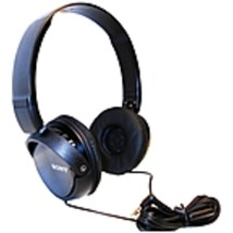 Sony ZX Series MDR-ZX310AP/B On-Ear Headphones with Microphone - Black - $34.97