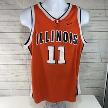 Nike Illinois Fighting Illini Basketball Jersey #11 Dee Brown Youth XL - $29.69