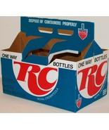 Vintage soda pop bottle carton ROYAL CROWN COLA RC One Way Bottles new o... - $9.99
