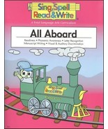 ALL ABOARD, STUDENT EDITION, SING SPELL READ AND WRITE [Paperback] MODER... - $15.79