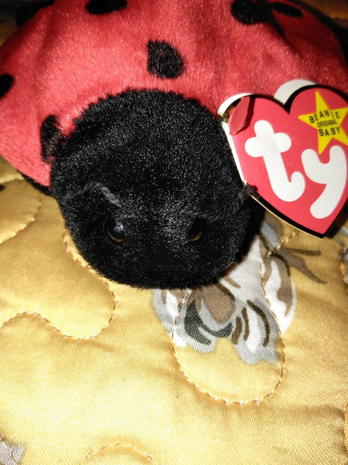7991635087e Ty Beanie Baby Lucky the Ladybug VERY RARE and 22 similar items. 57