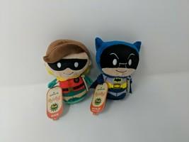 Hallmark Itty Bittys Bitty Classic TV Series Batman And Robin Plush Figu... - $29.69