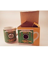 The Official Hole In One Golf Club Green Ceramic Coffee Mug Papel w/ Act... - $11.30