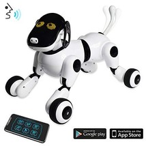 Puppy Smart Voice & App Controlled Kids Robot Dog Toy   Interactive, Dan... - $117.85