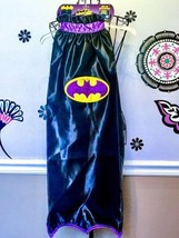 Batgirl Kid's Deluxe Black & Purple Cape Licensed Batman Rubies Costumes - $21.39