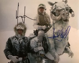 "Harrison Ford & Mark Hamill Signed Autographed ""Star Wars"" Glossy 8x10 P... - $299.99"